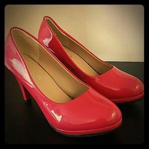 """Shoes - Patent """"Leather"""" Pumps"""